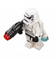 Lego Star Wars: Imperial Stormtrooper with Jetpack and Blaster - Minifigure